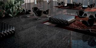 indoor tile floor porcelain stoneware polished noble black