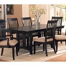 Download Black Wood Dining Room Sets Gencongresscom - Black wood dining room table
