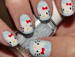 hello kitty gel nail art designs lustyfashion