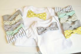 bow tie baby shower tiny bow ties for tiny gentlemen tutorial one