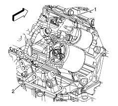 repair instructions knock sensor replacement bank 2 2009