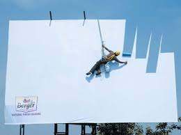 man painting the sky berger paints advertisement hd funny
