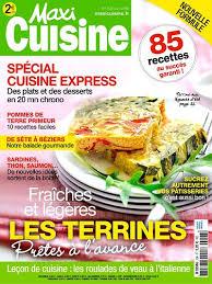 recettes maxi cuisine achat magazine maxi cuisine n 108 en numérique