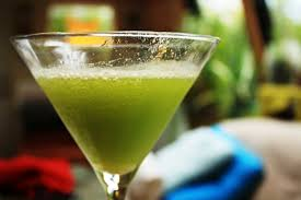 a healthy green apple martini life offers