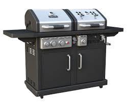 dyna glo dgp700ssb d dual fuel lp charcoal grill youtube
