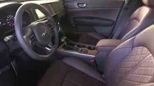 Kia Optima Interior Colors 2016 Kia Optima Sxl Interior Design Automototv Youtube