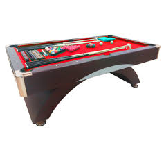 Professional Pool Table Size by 8 Ft Pool Table Billiard Playing Table Game Billiards Red Caesar