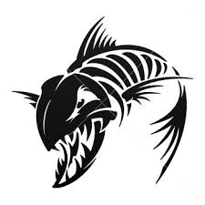 100 skeleton tribal tattoo fish tattoos designs and ideas