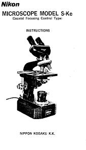 nikon microscope u0026 magnifier s ke user guide manualsonline com