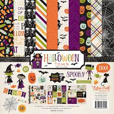 Halloweentown Series In Order by Amazon Com Echo Park Paper Company Halloween Town Collection Kit