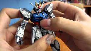 rg aile strike gundam painted review part 1 youtube