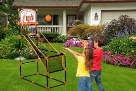kleeger arcade basketball hoop game single shot indoor shooting