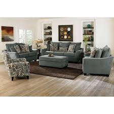 ottoman dazzling grey sofa and chairs with ottomans for living