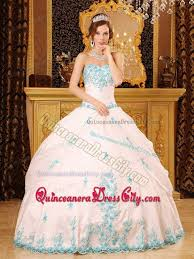 quince dresses white gown floor length lace decorate quinceanera gown dress