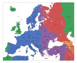 Italy Time Zone Map by Maps Of Europe And European Countries Political Maps Road And