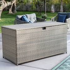 belham living kambree all weather wicker 190 gallon deck box