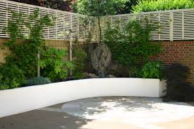 small tropical backyard ideas raised beds add instant height and varying levels within your