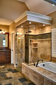 master bathrooms ideas large block tile master bathroom designs