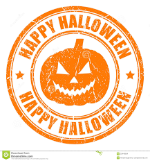 happy halloween stamp stock images image 33448694