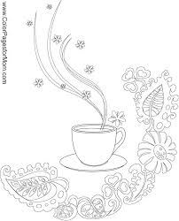 coffee coloring page 3 coloring pages pinterest coloring