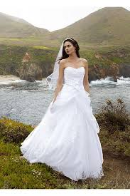 bridal wedding dresses tulle gown with lace up back and side swags ai10012163