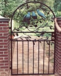 ornamental iron gates railings berrybatesculpture
