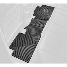 honda pilot all weather mats amazon com weathertech w152 all weather trim to fit rear rubber