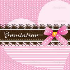 Example Of Baptismal Invitation Card Baptism Invitations Design An Invitation Card Card Invitation