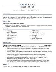 Web Designer Resume Sample by 266 Best Resume Examples Images On Pinterest Resume Examples