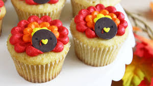 thanksgiving cupcake recipes ideas how to make thanksgiving turkey cupcakes youtube