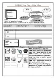 english teaching worksheets adverbs of sequence