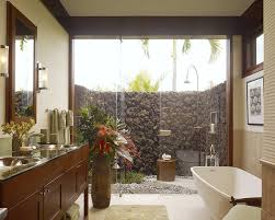 tropical bathroom ideas bathroom tropical bathroom ideas with freestanding tubs and