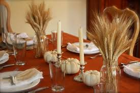 simple thanksgiving table come to the table