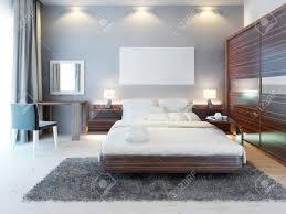 chambre a coucher avec coiffeuse vue de de la chambre à coucher dans un style moderne un grand