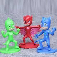 pj masks connor greg amaya 3pc pvc figure toy doll collection