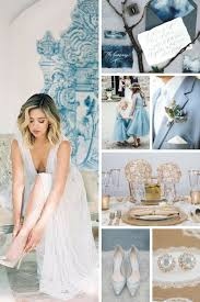blue wedding dusty blue wedding inspiration