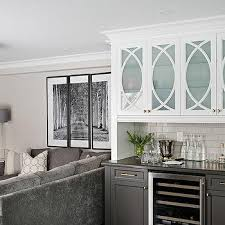 white frosted glass kitchen cabinet doors frosted glass mullion bar cabinets design ideas