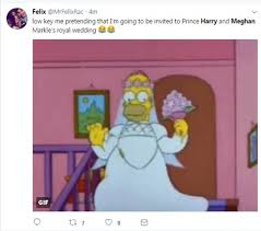 reacts to prince harry and meghan engagement daily mail