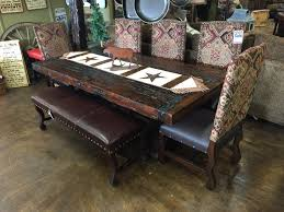 Rustic Dining Room Sets Bradley U0027s Furniture Etc Utah Rustic Dining Table Sets