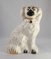 probably reproductions of staffordshire dogs but decor
