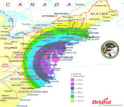 Usa East Coast Map Download Map Of East Coast Canada Mesmerizing Map Of East Coast