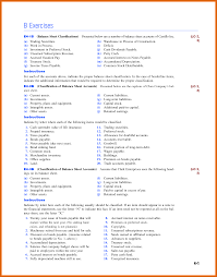 classified balance sheet example apa examples