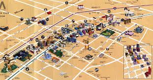 Caesars Palace Las Vegas Map by Touristic Map Of Las Vegas Trip Tips Las Vegas