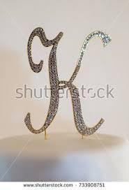 k cake topper letter k stock images royalty free images vectors