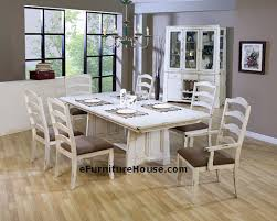 Antique White Dining Room Furniture White Washed Dining Room Furniture Decor Gyleshomes Com
