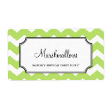 Candy Labels For Candy Buffet by Candy Buffet Shipping Address U0026 Return Address Labels Zazzle