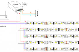 rgb led strip controller circuit diagram wiring diagram