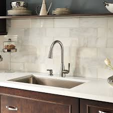 stainless steel lima pulldown kitchen faucet f 529 6lms