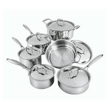 cuisine paderno canadian professional 12 stainless steel cookware set paderno