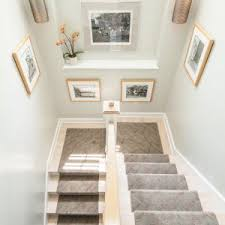 Staircase Wall Ideas Accessories Geometric Carpet Runners For Stairs And White Wall As